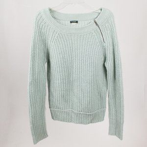 J.Crew Knit Blue Green Sweater Size S